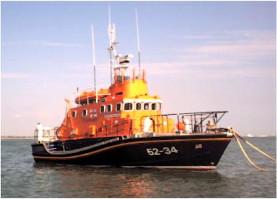 RNLI Lifeboat Margaret Russell Fraser