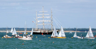 Yachts at Cowes