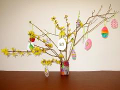 Easter Tree step 6