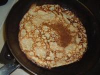 Pancake in a pan