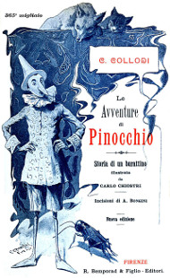 Illustration from Le avventure di Pinocchio by Carlo Collodi