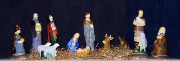 Second nativity scene