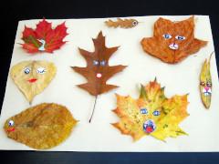 Leaf creatures step 3