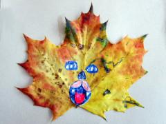 Leaf creatures step 4