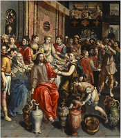 The Marriage at Cana by Maerten de Vos