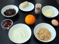 Ingredients for Mini Simnel Cakes