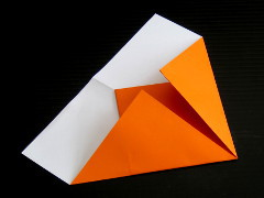 paper plane step 3