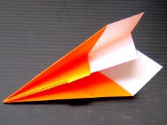 paper plane step 5