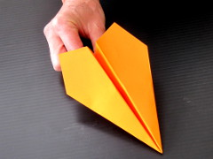 paper plane step 6