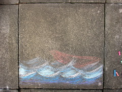Pavement art step 2