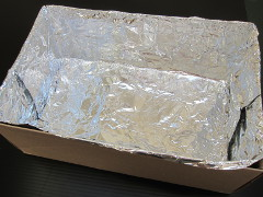 Solar oven step 1
