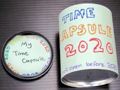 Time capsule step 1